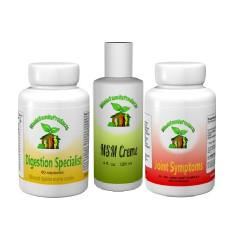 WFP Arthritis Pack-arthritis pack, digestion specialist, joint symptoms, msm gel creme